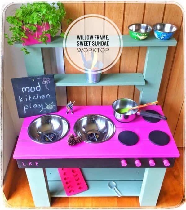 Sidmouth Mud Kitchen Willow Frame